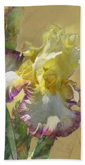Iris, 'kiss Of Kisses' Beach Towel