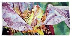 Iris Passion 1993 Beach Towel