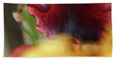 Iris Petals 2 -  Beach Towel
