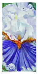 Iris Wisdom Beach Towel