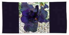 Irises 1 Beach Towel
