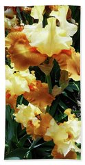 Irises 23 Beach Towel