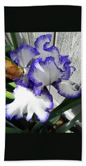 Irises 4 Beach Sheet