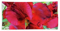 Irises 6 Beach Towel