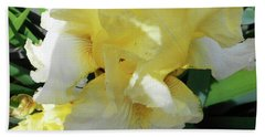 Irises 9 Beach Towel