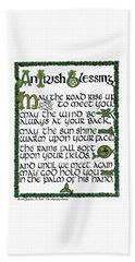 Irish Blessing Beach Sheet