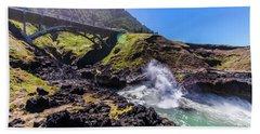 Irish Bridge Beach Towel