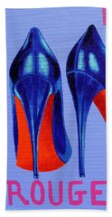 Irish Burlesque Shoes Beach Towel by John  Nolan