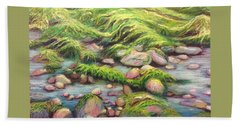 Irish Seas Beach Towel