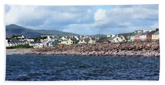 Irish Seaside Village, Co Kerry  Beach Towel