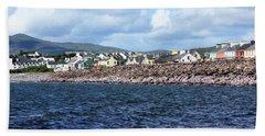 Irish Seaside Village - Co Kerry  Beach Towel