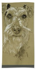 Irish Terrier Beach Towel