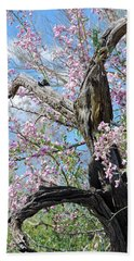 Ironwood In Bloom Beach Towel