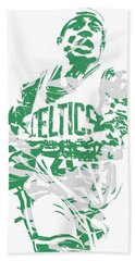 Isaiah Thomas Boston Celtics Pixel Art 15 Beach Towel