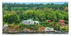 Island Living, Swedish Style Beach Towel
