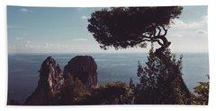 Island Of Capri - Italy Beach Sheet