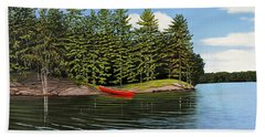 Island Retreat Beach Towel