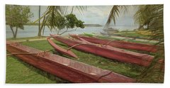 Island Sketches Beach Towel by Scott Cameron