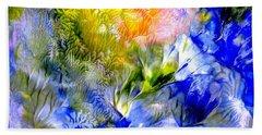 Island Spring Beach Sheet by Fred Wilson