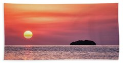 Island Sunset Beach Sheet