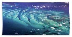Island Under The Sea Beach Towel