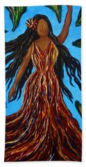 Island Woman Beach Towel