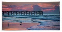 Beach Towel featuring the photograph Isle Of Palms Morning by Donnie Whitaker