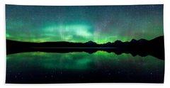 Iss Aurora Beach Sheet by Aaron Aldrich