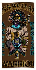 Issachar Aztec Warrior Beach Towel
