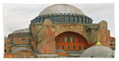 Beach Towel featuring the photograph Istanbul Dome by Munir Alawi