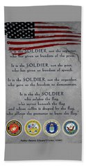 It Is The Soldier Beach Sheet