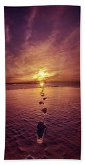 Beach Towel featuring the photograph It Is Then That I Carried You by Phil Koch