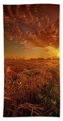 Beach Sheet featuring the photograph It Just Is by Phil Koch