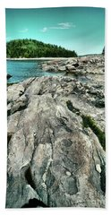 Beach Towel featuring the photograph It Rocks  by Aimelle