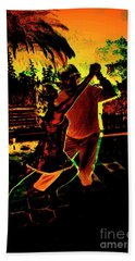 Beach Towel featuring the photograph It Takes Two To Tango by Al Bourassa
