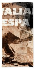 Italian Vespa Beach Towel