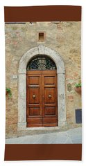 Italy - Door Twelve Beach Sheet
