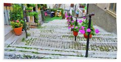 Italy In The Spring  Beach Towel