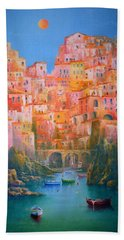 Impressions Of Italy   Beach Towel