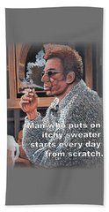 Itchy Sweater Beach Sheet