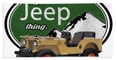 It's A Jeep Thing Beach Towel