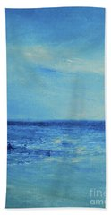 Beach Sheet featuring the painting It's A New Day by Jane See
