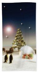 It's Christmas Time Beach Sheet
