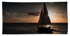 Beach Towel featuring the photograph It's Not Far To Never-never Land by Yvette Van Teeffelen