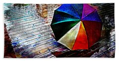 It's Raining Again Beach Towel by Randi Grace Nilsberg