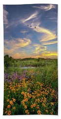 It's Time To Relax Beach Sheet