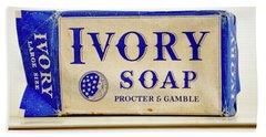 Ivory Soap Beach Sheet