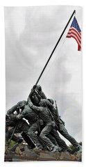 Iwo Jima Memorial Beach Towel