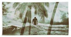 Izzy Jive And Palms Beach Towel
