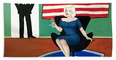 Jack And Marilyn Beach Towel